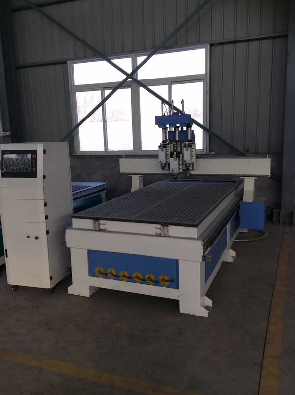 3KW / 4.5KW / 6KW Cnc Router Machine For Wood , Craftsman Wood Carving Machine