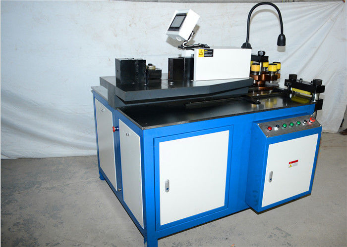 Movable CNC Busbar Machine / Equipment For Copper And Aluminum High Precision
