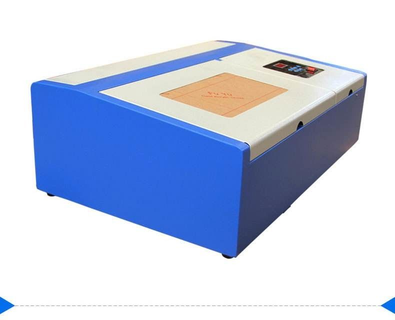 40 W 3020 Mini Laser Engraving Machine For Small Arts And Stamp Processing